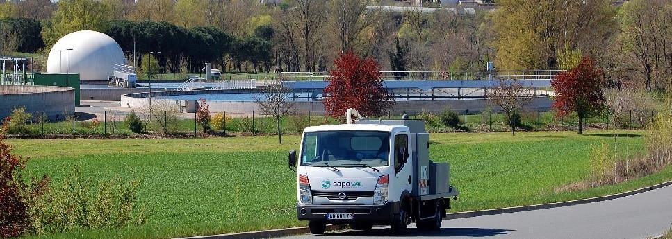 Unité mobile de gestion des déchets gras : le SAPO'MOB