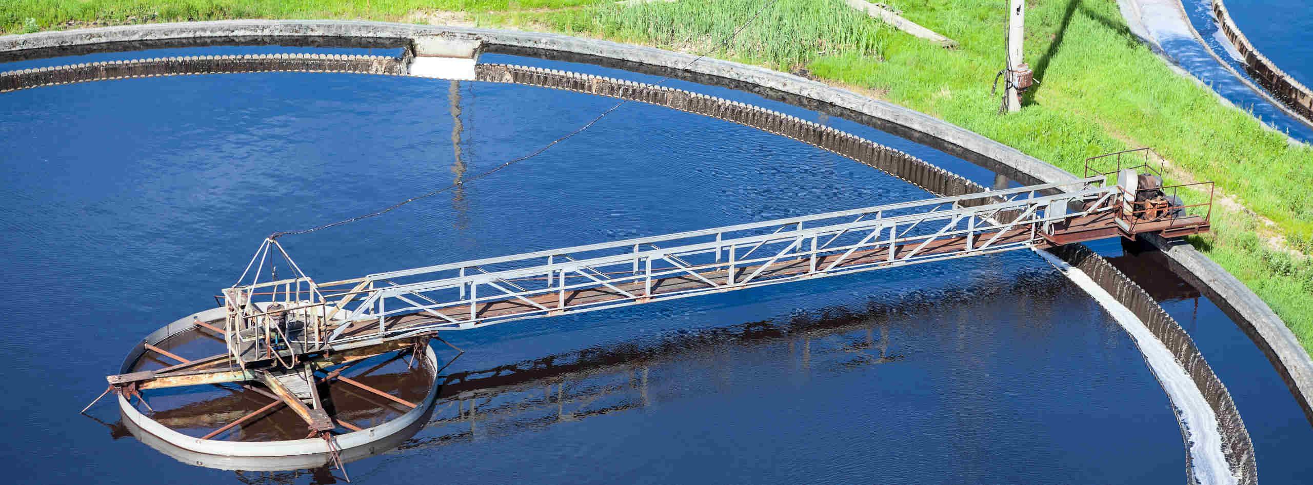 Station d'épuration pour le traitement des effluents industriels