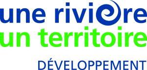 Logo EDF, une rivière, un territoire